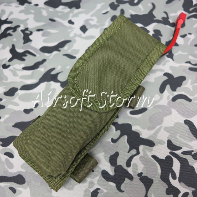 Airsoft Gear AEG External Large Battery Pouch Bag Pack Olive Drab OD