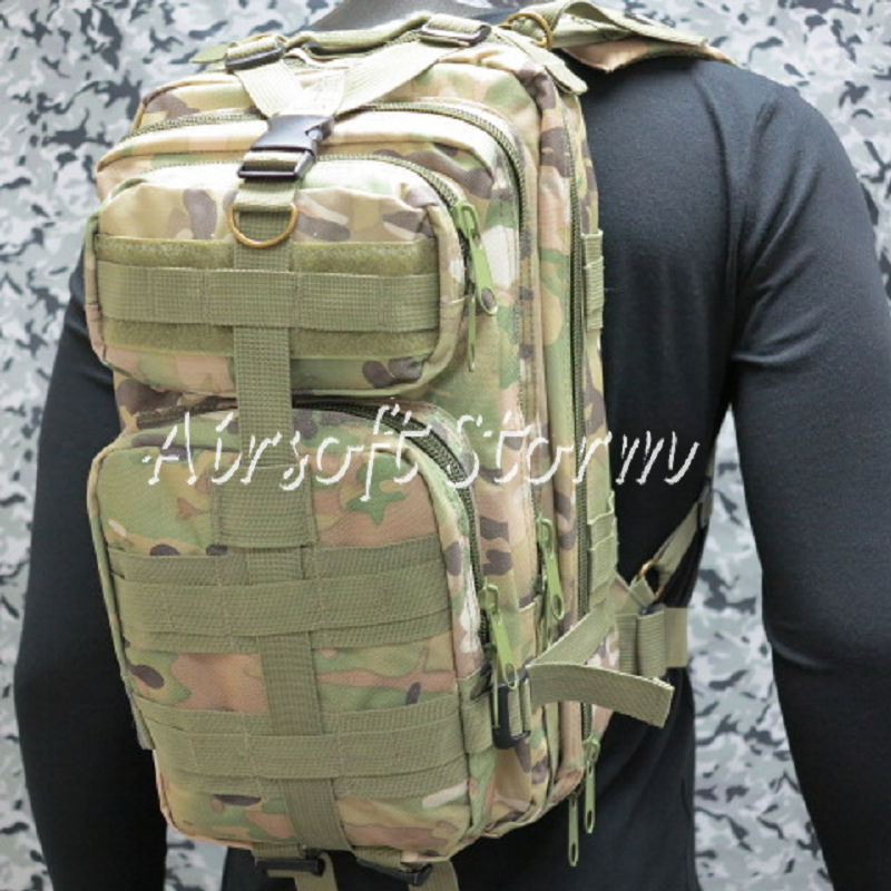 Level 3 Milspec Molle Assault Backpack Bag Multi Camo
