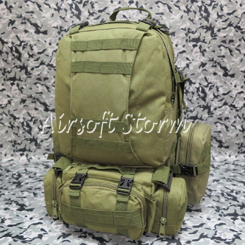 Airsoft SWAT CamelPack Tactical Molle Assault Backpack Bag Olive Drab OD