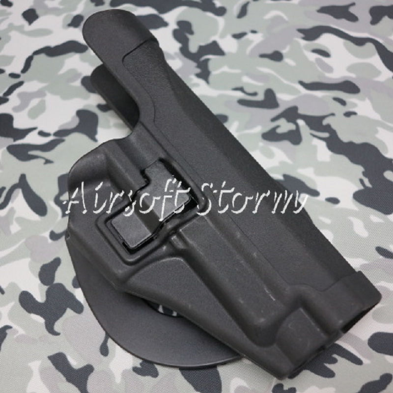CQC Tactical SIG P220/P226 RH Pistol Paddle & Belt Holster Black