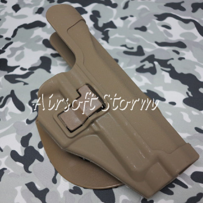 CQC Tactical SIG P220/P226 RH Pistol Paddle & Belt Holster Coyote Brown