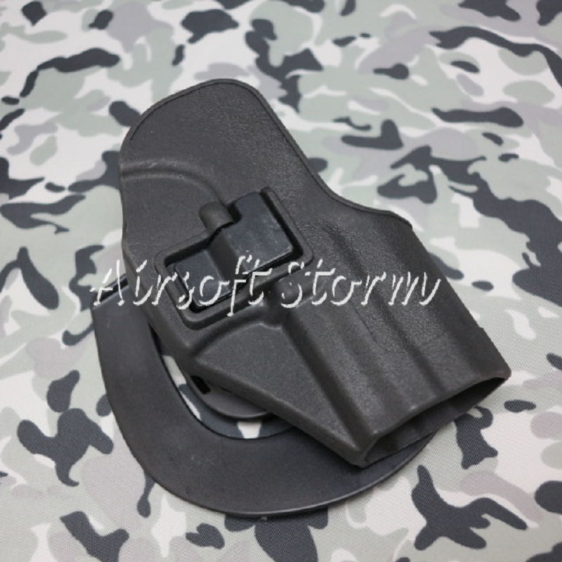 CQC Tactical H&K USP Compact RH Pistol Paddle & Belt Holster Black