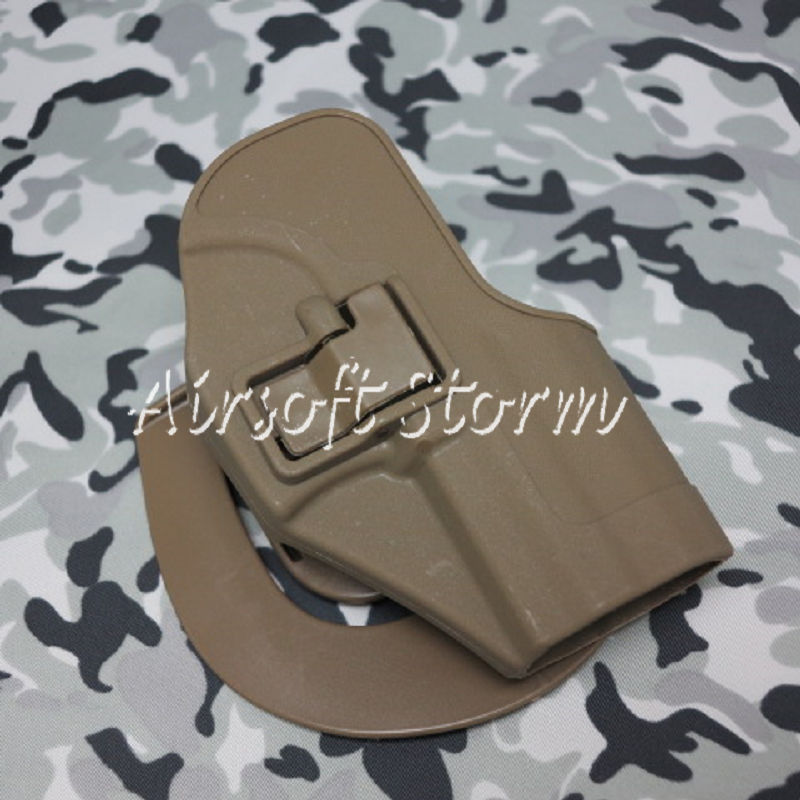 CQC Tactical H&K USP Compact RH Pistol Paddle & Belt Holster Coyote Brown