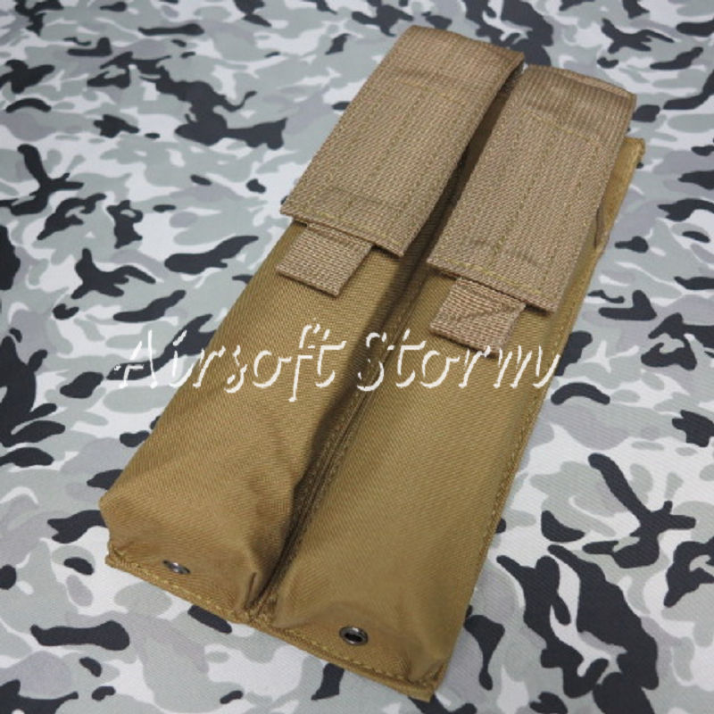 Airsoft Tactical Gear Molle Assault Double P90/UMP Magazine Pouch Coyote Brown