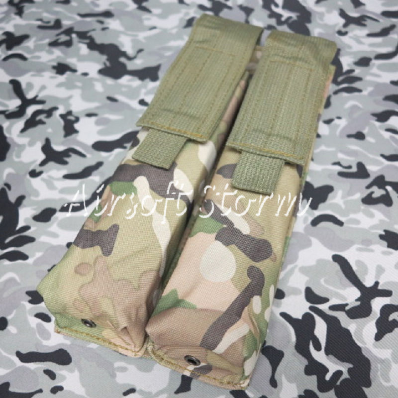 Airsoft Tactical Gear Molle Assault Double P90/UMP Magazine Pouch Multi Camo