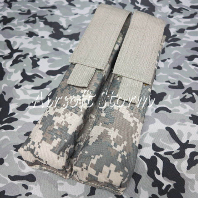 Airsoft Tactical Gear Molle Assault Double P90/UMP Magazine Pouch ACU Digital Camo