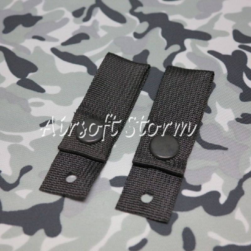 Airsoft SWAT Tactical Gear Helmet Universal Goggle Retention Straps Black