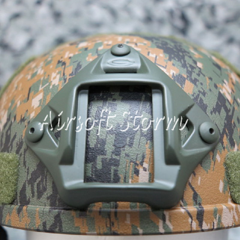 Airsoft SWAT Tactical Gear VAS Type Night Vision Goggle Mount for MICH/ACH/PASGT Helmet Olive Drab