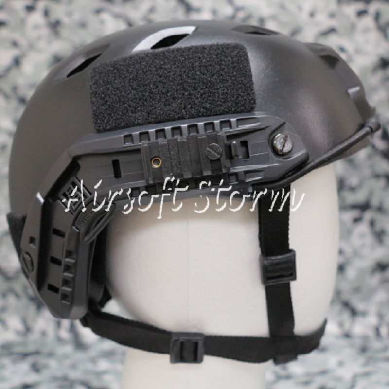 Airsoft Paintball SWAT Tactical Gear FAST Base Jump Style Helmet Black - Click Image to Close