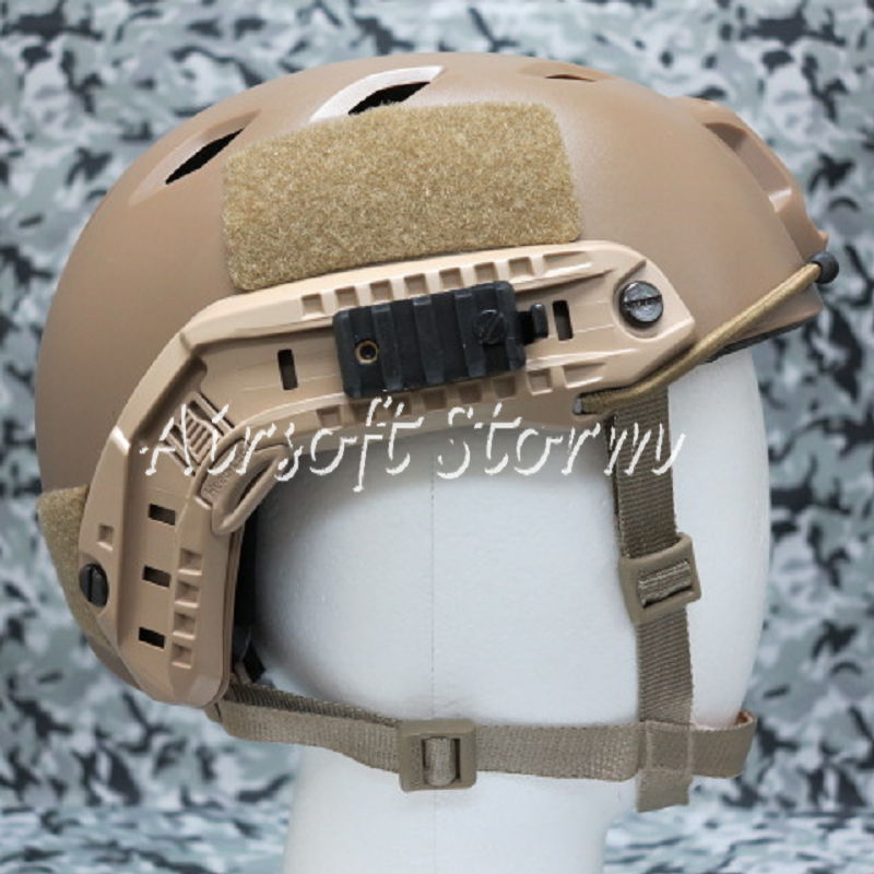 Airsoft Paintball SWAT Tactical Gear FAST Base Jump Style Helmet Coyote Brown - Click Image to Close