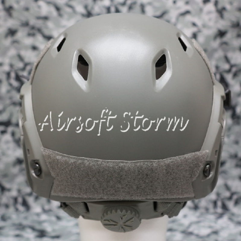 Airsoft Paintball SWAT Tactical Gear FAST Base Jump Style Helmet ACU Foliage Green - Click Image to Close