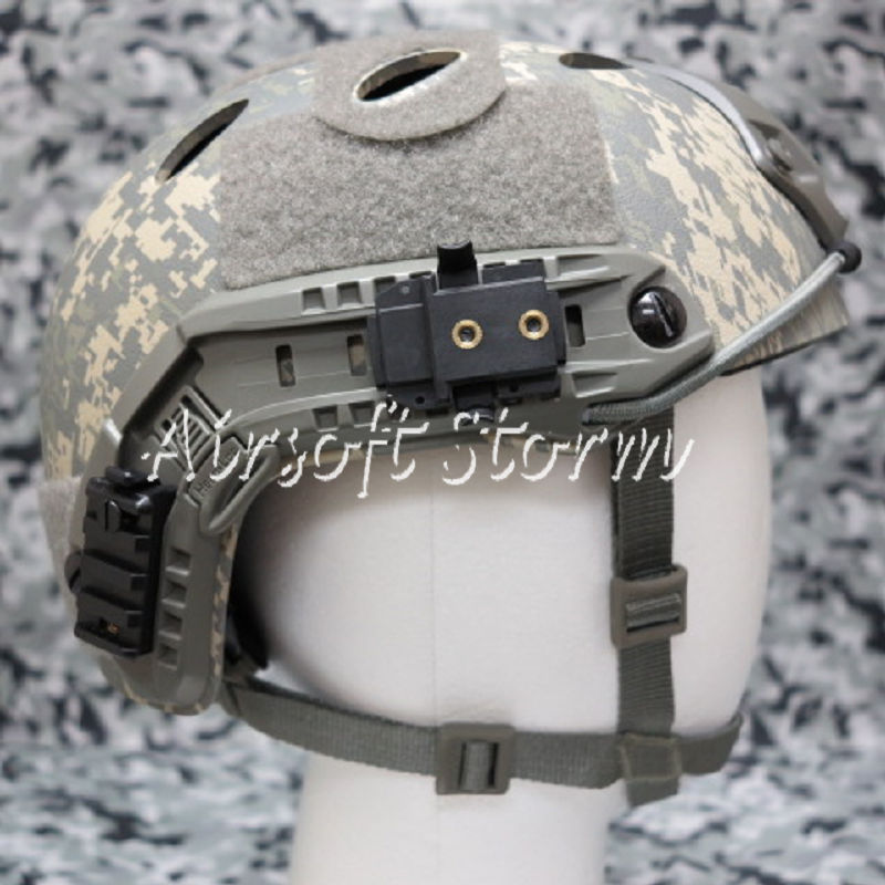 Airsoft Paintball SWAT Tactical FAST Carbon Style Helmet ACU Digital Camo - Click Image to Close