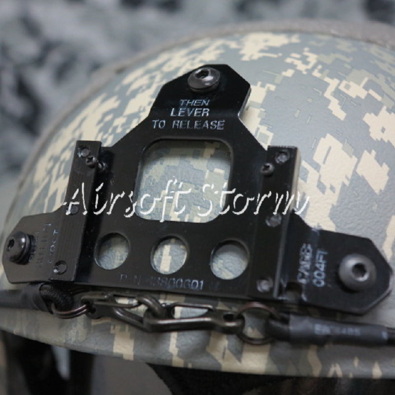 Airsoft Paintball SWAT Tactical Gear IBH Helmet with NVG Mount & Side Rail ACU Digital Camo - Click Image to Close