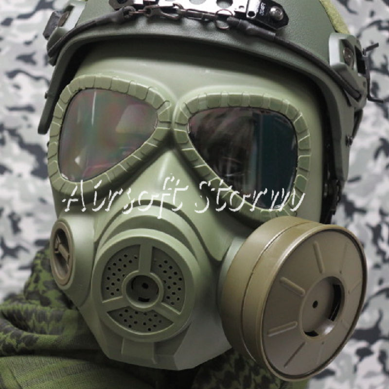 Airsoft Paintball SWAT Tactical Gear M04 Dummy Gas Protection Mask Olive Drab OD
