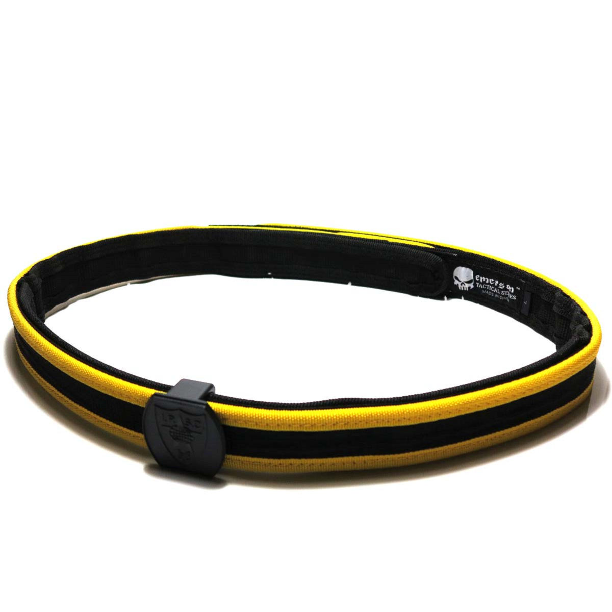 Airsoft SWAT Tactical Combat Gear Big Dragon IPSC BD2353 Special Shooting Belt Black/Yellow